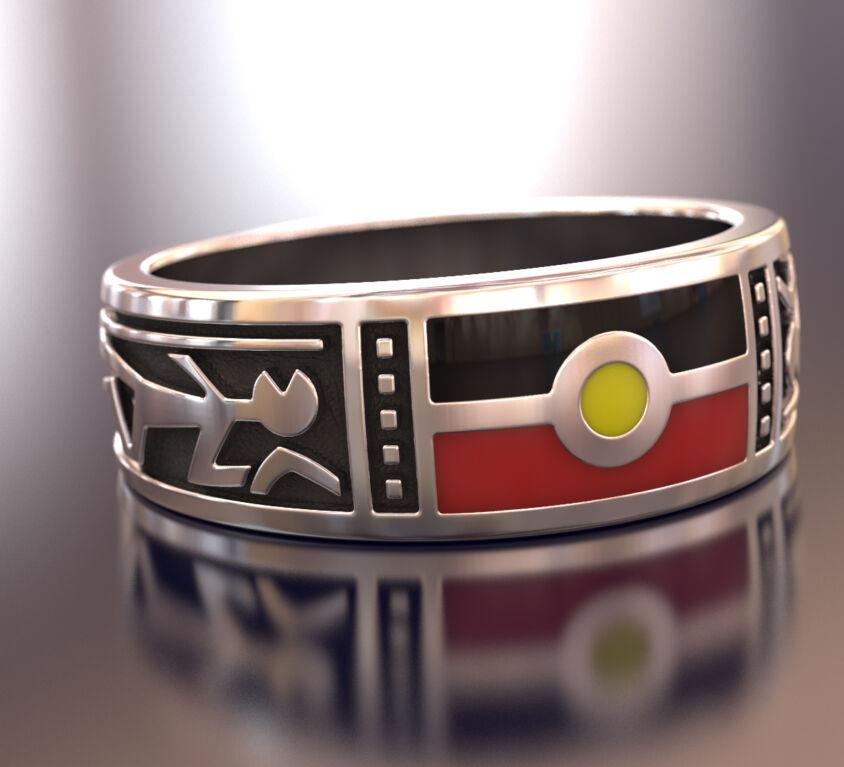 Aboriginal themed jewellry