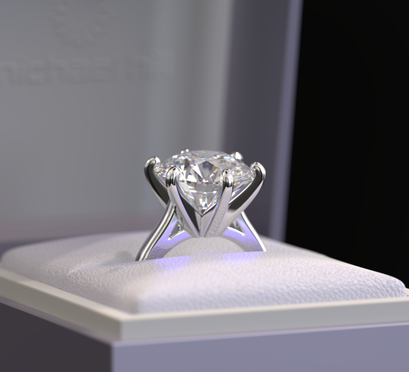 4.50ct Solitaire