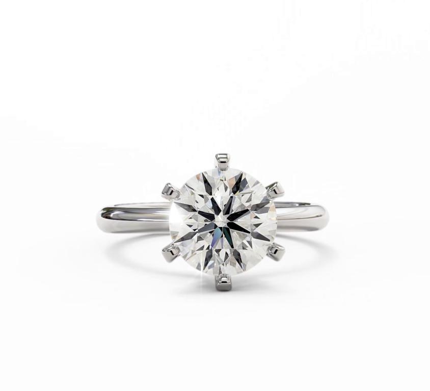 Beautiful D colour diamond Solitaire